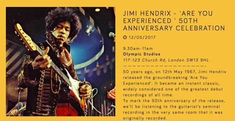 Jimi Hendrix poster meditation party