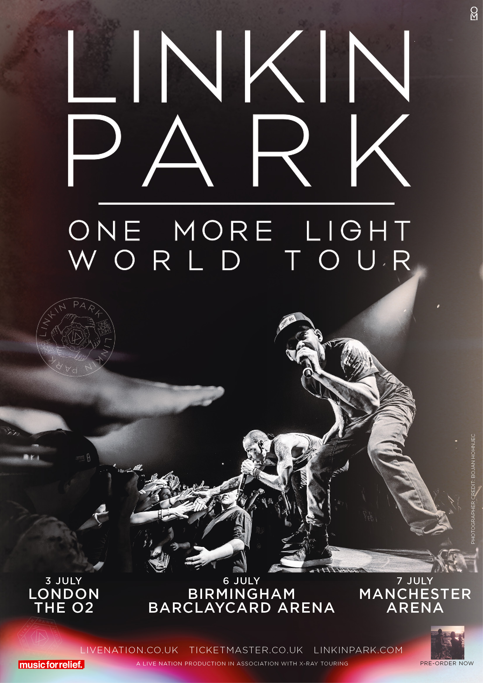 Linkin Park Tour Image 2017