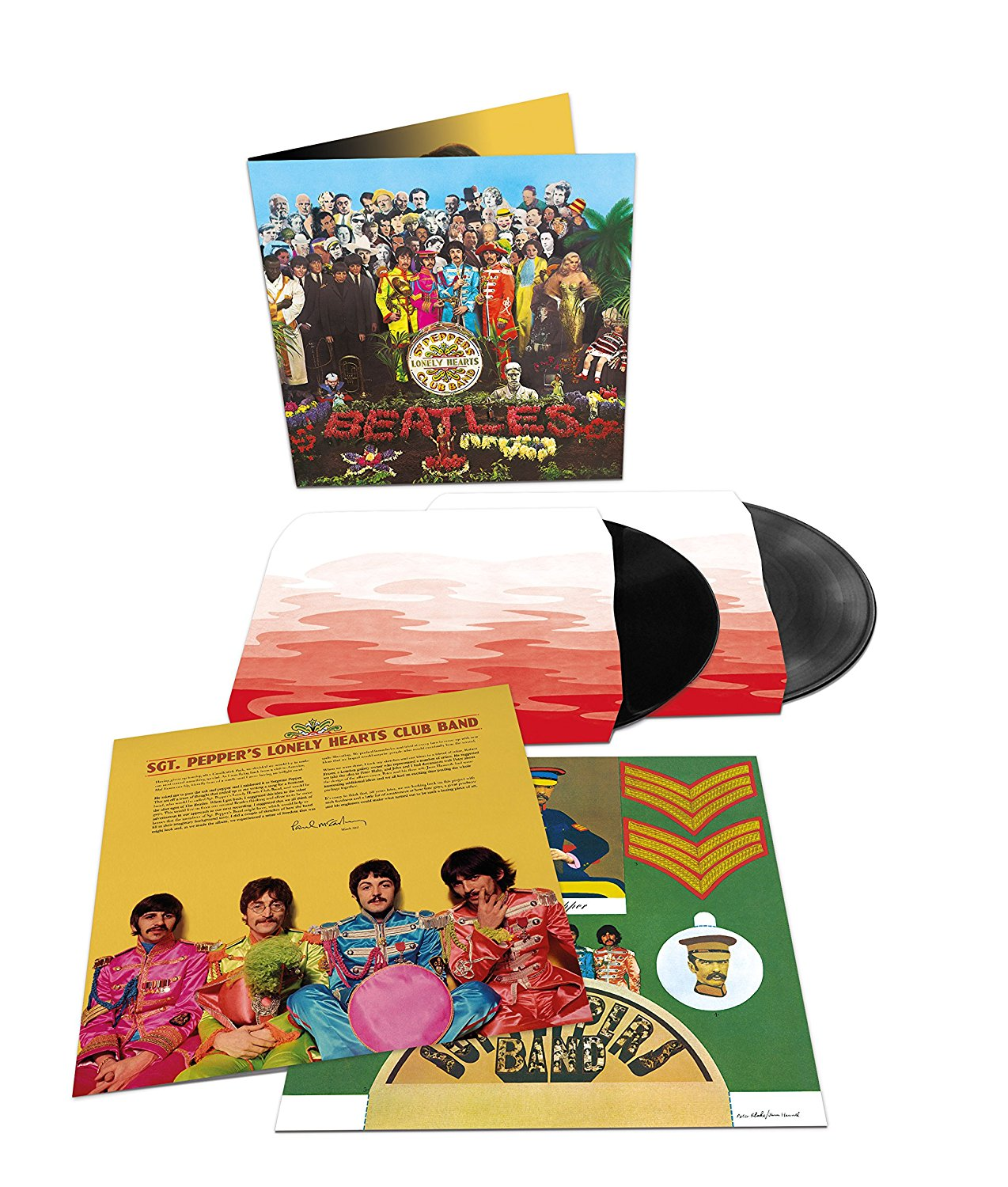 The Beatles - Sgt Pepper 50th anniversary vinyl