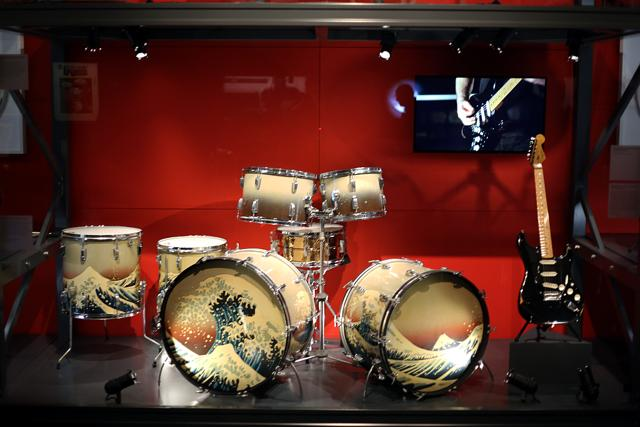 Watch take a look around the amazing pink floyd for Pink floyd exhibition