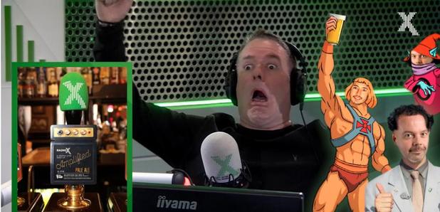 Chris Moyles plays Radio X Beer launch audio log