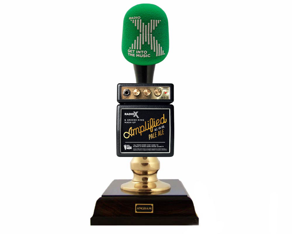 Radio X Beer Pump