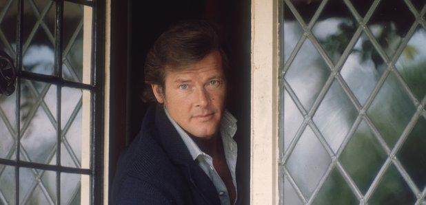 Sir Roger Moore in 1970
