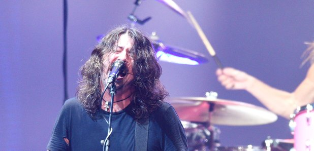 Dave Grohl performing in 2017