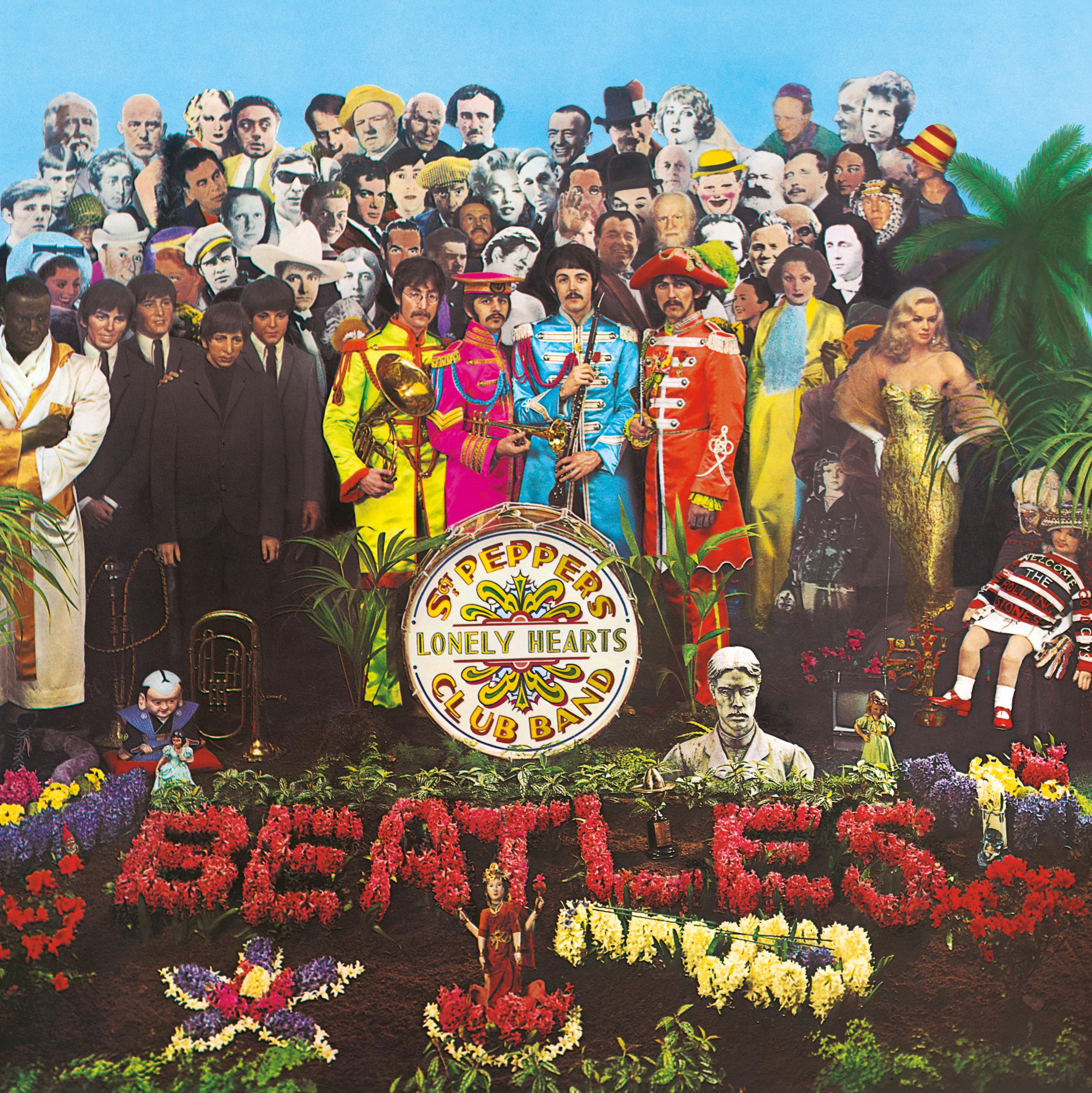The Beatles - Sgt Pepper cover LARGE