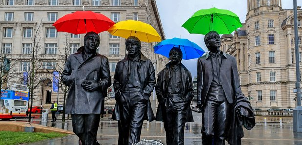 The Beatles Sgt. Pepper image Liverpool