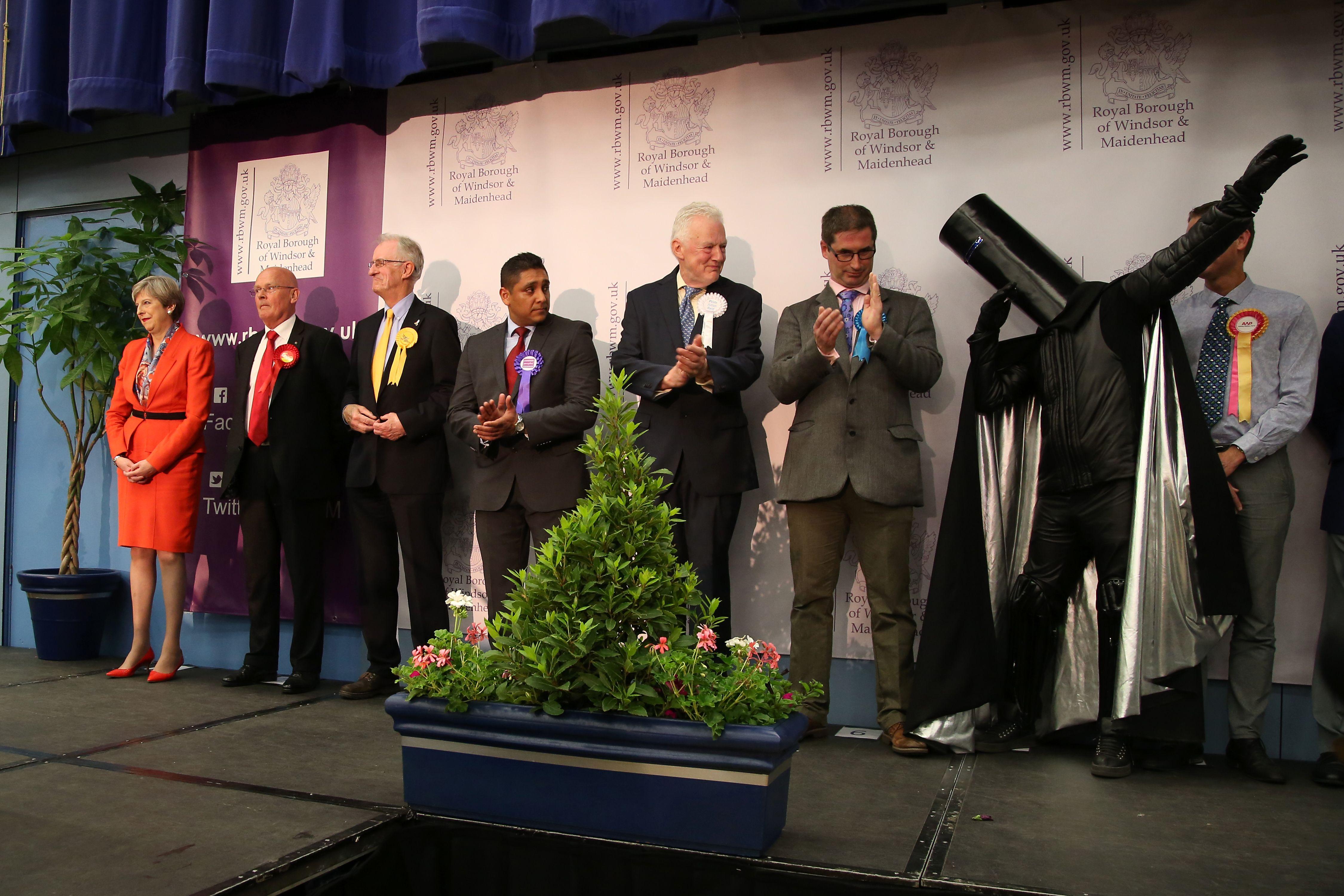 Maidenhead election Lord Buckethead