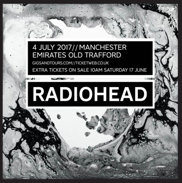 Radiohead new tour date announcement