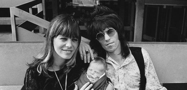 The Rolling Stones Keith Richards Anita Pallenberg