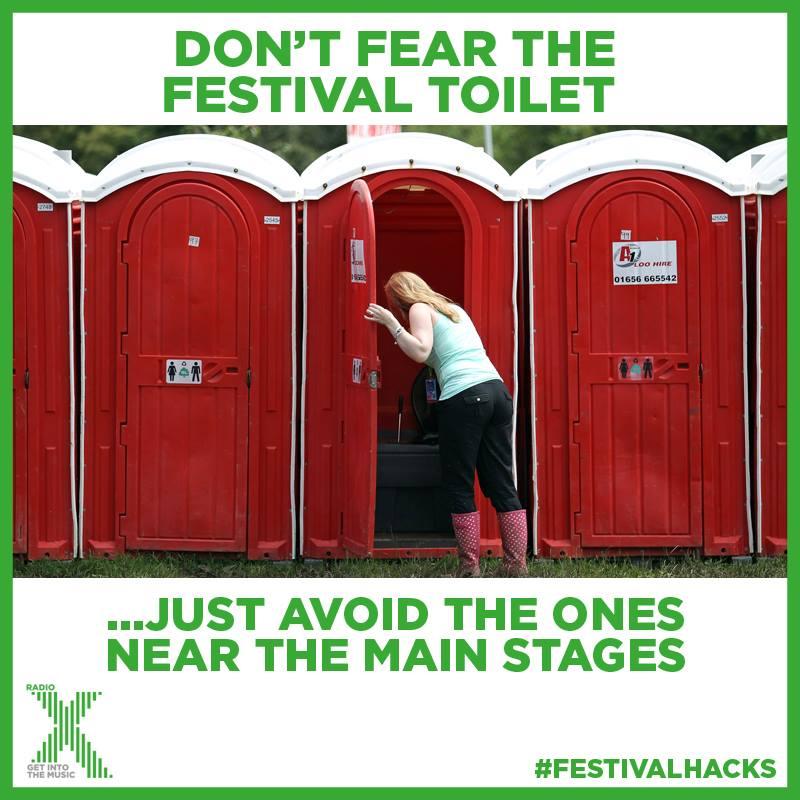 Festival Toilet Tip