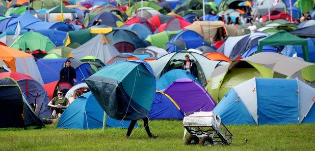 Glastonbury camping 2016
