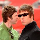 Noel and Liam Gallagher Wembley Stadium 2008
