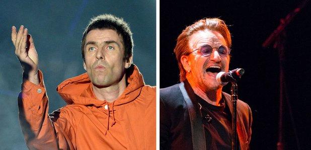 Liam Gallagher U2 Bono