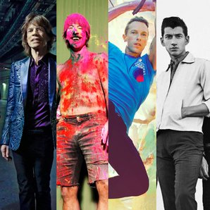 Top 20 Bands list Mick Jagger, Anthony Kiedis, Chr