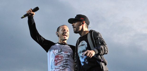Mike Shinoda and Linkin Park Chester Bennington