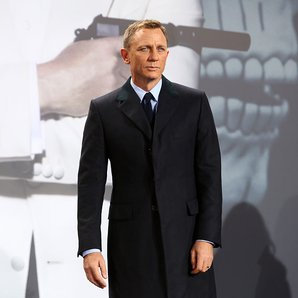 Daniel Craig As James Bond at Berlin spectre premi