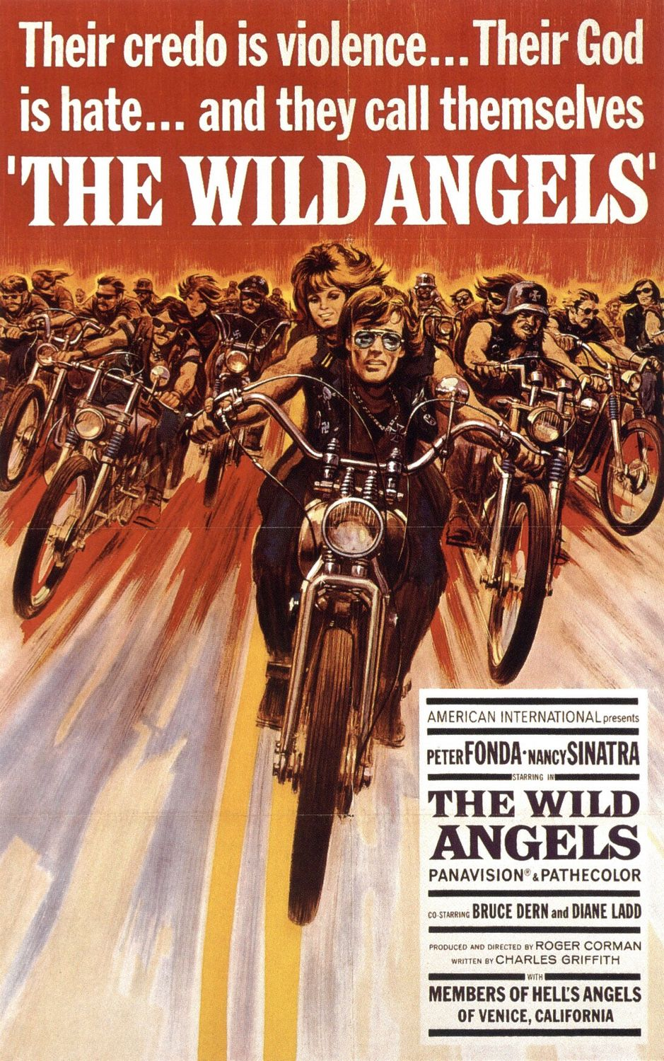 The WIld Angels poster