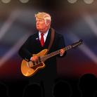Donald Trump Sings Radiohead's Creep in parody vid