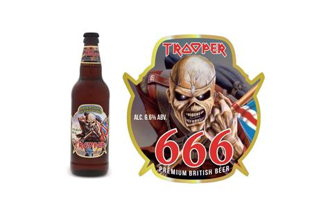 Iron Maiden Trooper beer