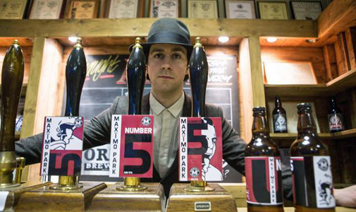 Maximo Park beer