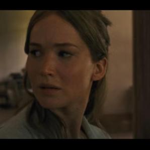 Jennifer Lawrence in mother! trailer