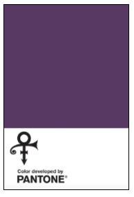 Prince's Pantone colour Love Symbol #2