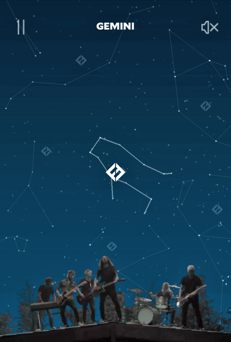 Foo Fighters constellation
