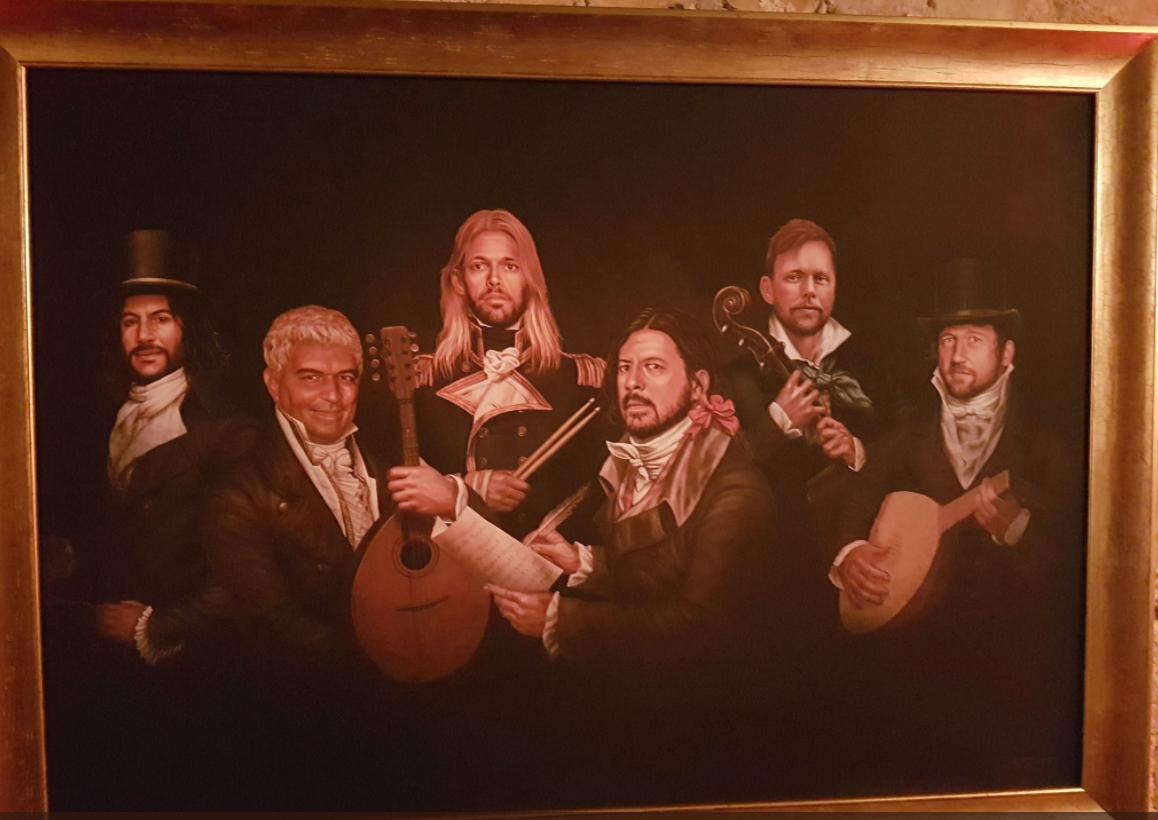 Foo Fighters Arms portrait fan picture