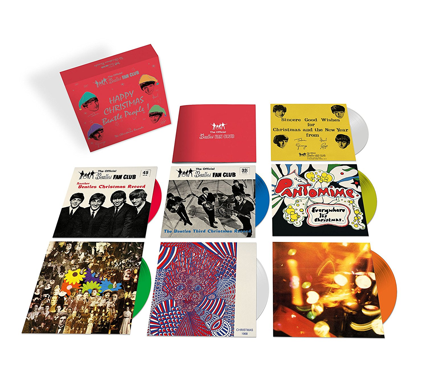 New Beatles Box Set Collects Their Christmas Records