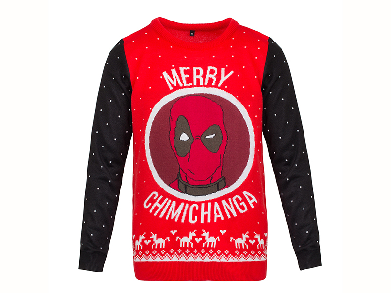 Deadpool Christmas Jumper