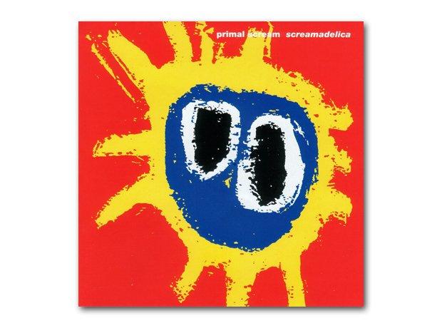 Primal Scream – Screamadelica album cover
